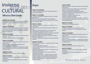invierno cultural 2011